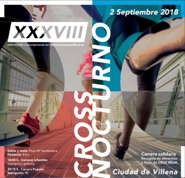 XXXVIII CROSS NOCTURNO CIUDAD DE VILLENA