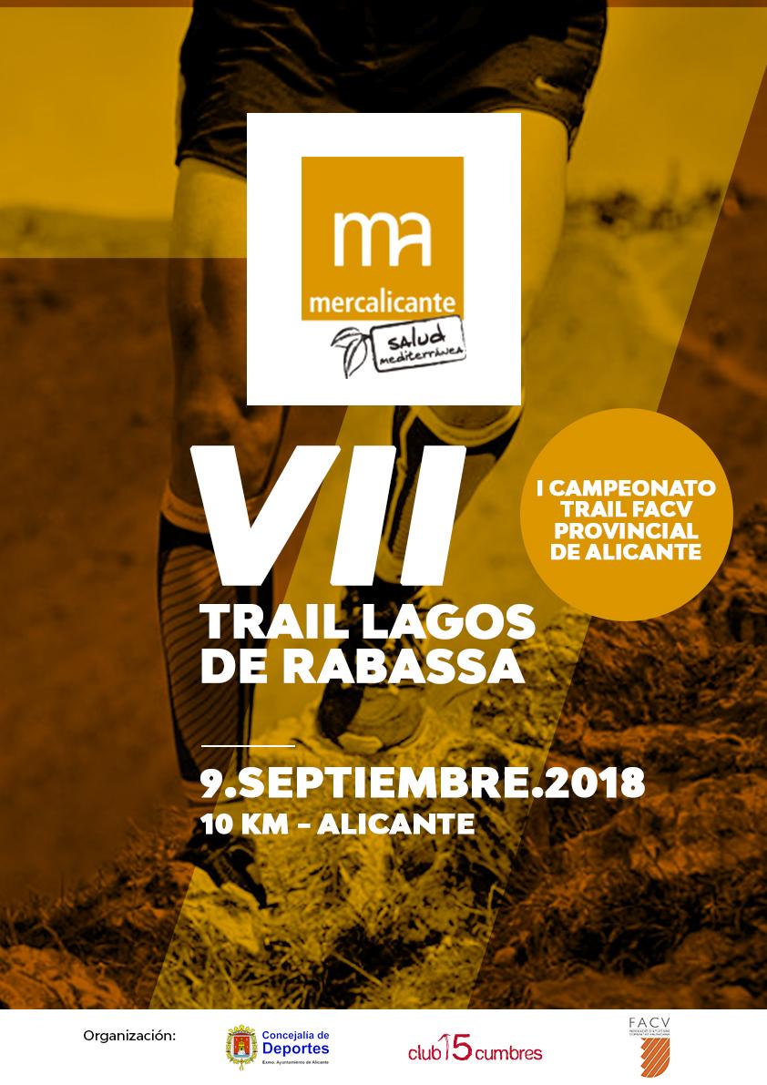 VII CROSS RABASA Y I CAMPEONATO PROVINCIAL DE TRAIL 10K FACV