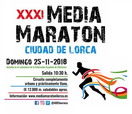 XXXI MEDIO MARATÓN CIUDAD DE LORCA